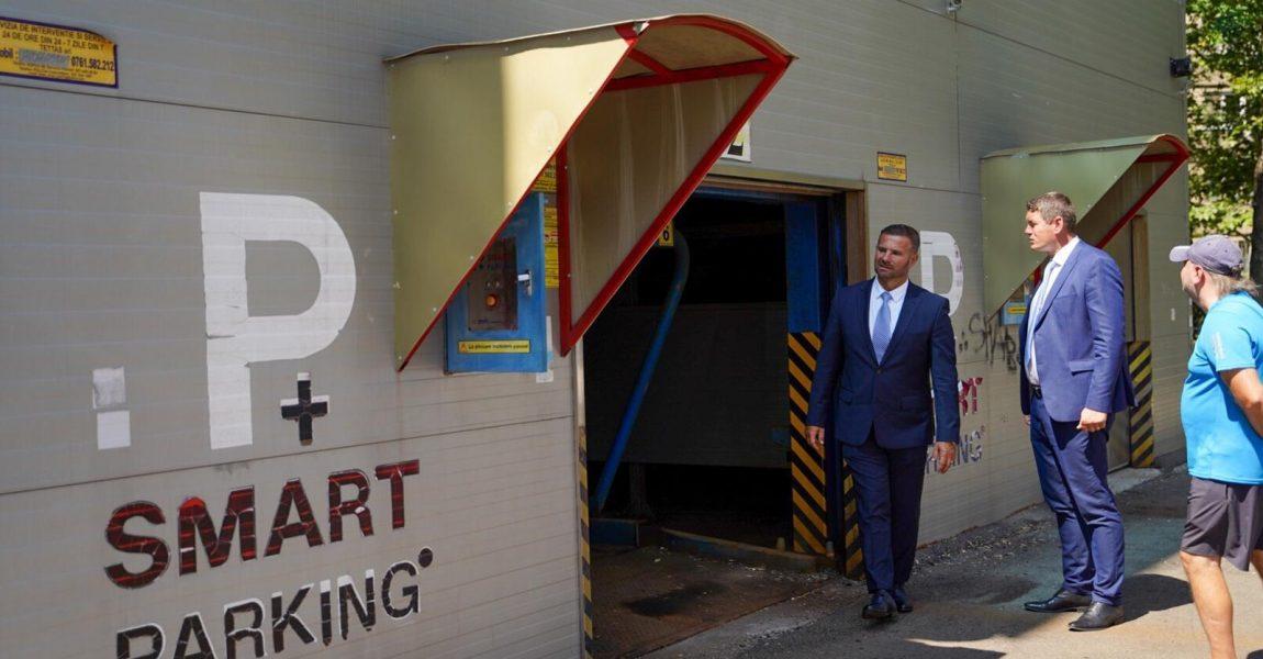 Smart Parking pentru Reghin